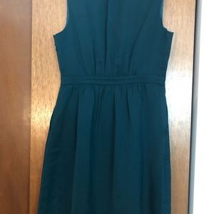 J. Crew Factory Hunter Green Shift Dress